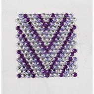 Handysticker V-Style violett