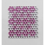 Handysticker Mosaik pink