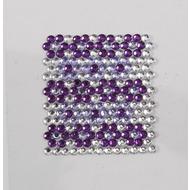 Handysticker Mosaik violett