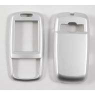 Oberschale Click-On Cover Samsung D600 silver salt