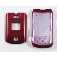 Oberschale Click-On Cover Motorola V3x red