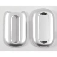 Oberschale Click-On Cover Motorola Pebl U6 silver salt