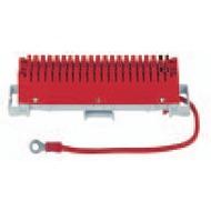 3M LSA-Plus 2 Erdungsleiste rot, 38-polig
