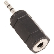 Stereo Audioadapter (2,5 mm Klinke <> 3,5 mm Buchse)