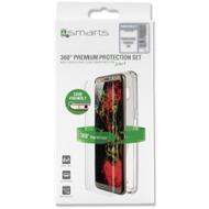 """4smarts 360° Premium Protection Set """"Case Friendly"""" für Huawei P20, transparent"""