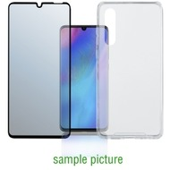 "4smarts 360° Premium Protection Set ""Case Friendly"" mit Colour Frame Glas für Huawei P30 Pro schwarz"