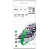 4smarts 360° Premium Protection Set für Samsung Galaxy S8+ transparent