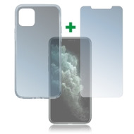4smarts 360° Protection Set für Apple iPhone 11 Pro Max transparent