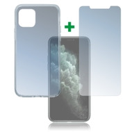 4smarts 360° Protection Set für Apple iPhone 11 Pro transparent