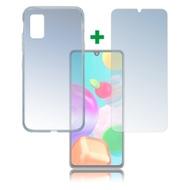 4smarts 360° Protection Set für Samsung Galaxy A41 transparent