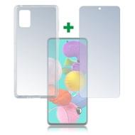 4smarts 360° Protection Set für Samsung Galaxy A51 transparent