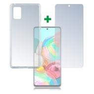 4smarts 360° Protection Set für Samsung Galaxy A71 transparent