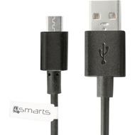 4smarts BasicCord Micro-USB Datenkabel 1m schwarz bulk