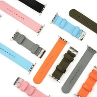 4smarts Fabric Armband für Apple Watch Series 4 (40mm) & Series 3/ 2/ 1 (38mm) orange