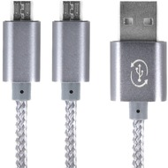 4smarts ForkCord Duo Micro-USB Datenkabel 1m