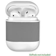 4smarts Kabellose Ladeschale für Apple AirPods 2 /  AirPods grau