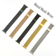 4smarts Metal Mesh Armband für Apple Watch Series 4 (40mm) & 3/ 2/ 1 (38mm) schwarz