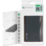 4smarts Powerbank Duos Slim Evo 6000mAh mit Lightning Kabel - grau