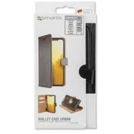 4smarts Premium Flip-Tasche URBAN für Apple iPhone 8 Plus /  7 Plus /  6s Plus /  6 Plus schwarz