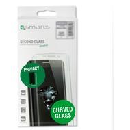 "4smarts Second Glass Privacy ""Case friendly"" Curved für Samsung Galaxy S8+"