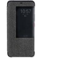 4smarts SmartCover für Huawei Mate 20 Pro Stoff dunkelgrau