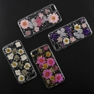 4smarts Soft Cover Glamour Bouquet für Apple iPhone 8 /  7 pink/ gold