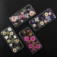 4smarts Soft Cover Glamour Bouquet für Huawei P20 lite weiße Blumen/ silberne Flocken