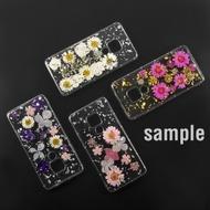 4smarts Soft Cover Glamour Bouquet für Huawei P30 weiße Blumen/ silberne Flocken