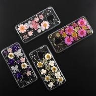 4smarts Soft Cover Glamour Bouquet für Samsung Galaxy A6 (2018) rosa Blumen/ silberne Flocken