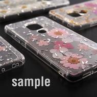 4smarts Soft Cover Glamour Bouquet für Samsung Galaxy S10+ weiße Blumen/ silberne Flocken