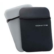 Acer Wende-Neoprentasche für Iconia Tab W500, schwarz-grau