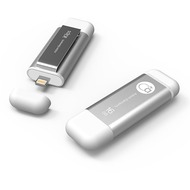 ADAM Elements iKlips Lightning Flashspeicher - 16 GB - silber