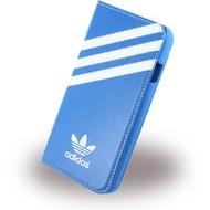adidas Basics - Book Cover /  Hülle /  Handytasche - Apple iPhone 6,6s - Blau/ Weiss