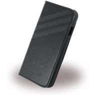 adidas Basics - Book Cover/ Hülle/ Handytasche - Apple iPhone 6,6s - Schwarz