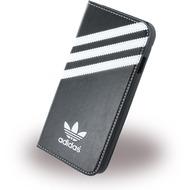 adidas Basics - Book Cover/ Hülle/ Handytasche - Apple iPhone 6,6s - Schwarz/ Weiss