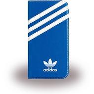 adidas Basics - Book Cover - Samsung Galaxy S7 - Blau/ Weiss