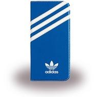 adidas Basics - Book Cover - Samsung Galaxy S7 Edge - Blau/ Weiss