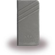 adidas Basics - Book Cover - Samsung Galaxy S7 Edge - Grau/ Grau