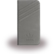 adidas Basics - Book Cover - Samsung Galaxy S7 - Grau/ Grau