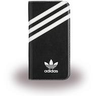 adidas Basics - Book Cover - Samsung Galaxy S7 - Schwarz/ Weiss