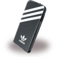 adidas Basics - Flip Cover/ Hülle/ Handytasche - Apple iPhone 6,6s - Schwarz/ Weiss