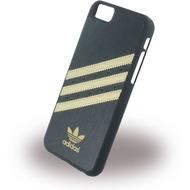 adidas Basics - Hard Cover /  Case /  Schutzhülle - Apple iPhone 6,6s - Schwarz/ Gold
