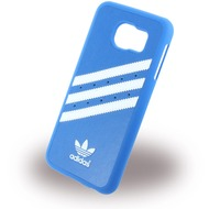 adidas Basics - Hard Cover /  Case /  Schutzhülle - Samsung G920F Galaxy S6 - Blau/ Weiss