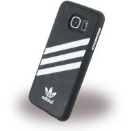 adidas Basics - Hard Cover /  Case /  Schutzhülle - Samsung G920F Galaxy S6 - Schwarz/ Weiss