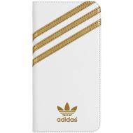 adidas Basics Premium Booklet Case for IPHONE 6 PLUS/ 6S PLUS white/ gold