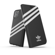 adidas OR Booklet Case PU FW19 for iPhone 11 Pro black/ white