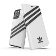 adidas OR Booklet Case PU FW19 for iPhone 11 Pro white/ black