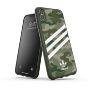 adidas OR Moulded Case Camo Woman FW19 for iPhone XS Max raw green