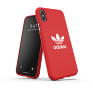 adidas OR Moulded Case Canvas FW19 for iPhone X/ Xs scarlet