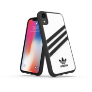 adidas OR Moulded Case PU FW18 for iPhone XR white/ black